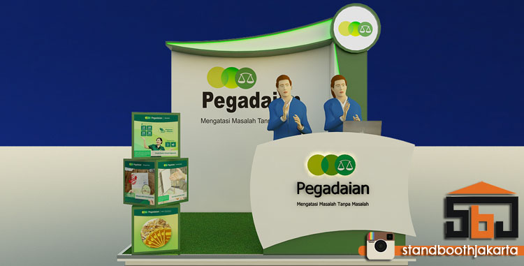 Stand Booth Pegadaian