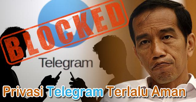 Cover Fitur Telegram Yang Ditakuti Pemerintah Indonesia