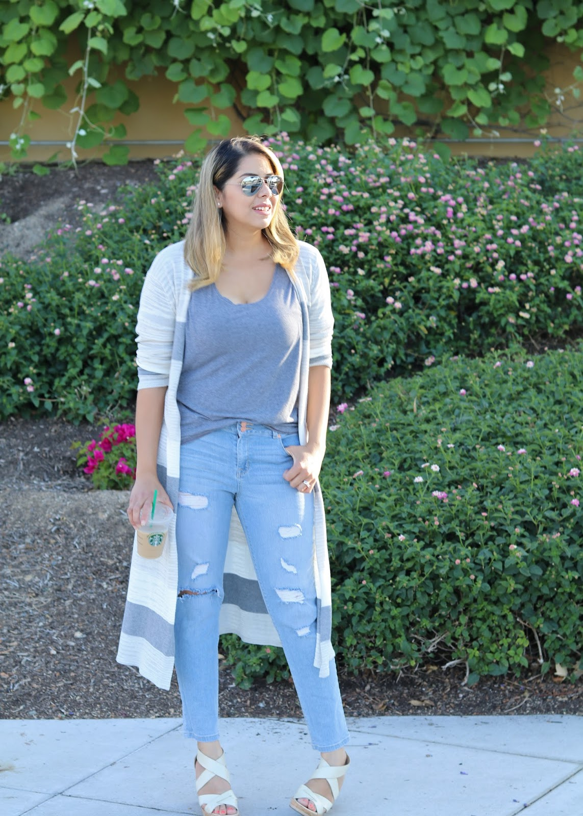 Casual Long Cardigan Outfit, San Diego Fashion Blogger, San Diego style blogger