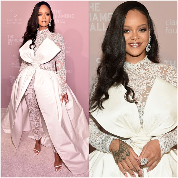 looks do diamond ball 2018 rihanna