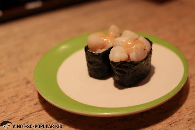 Bay Scallop Gunkan Sushi