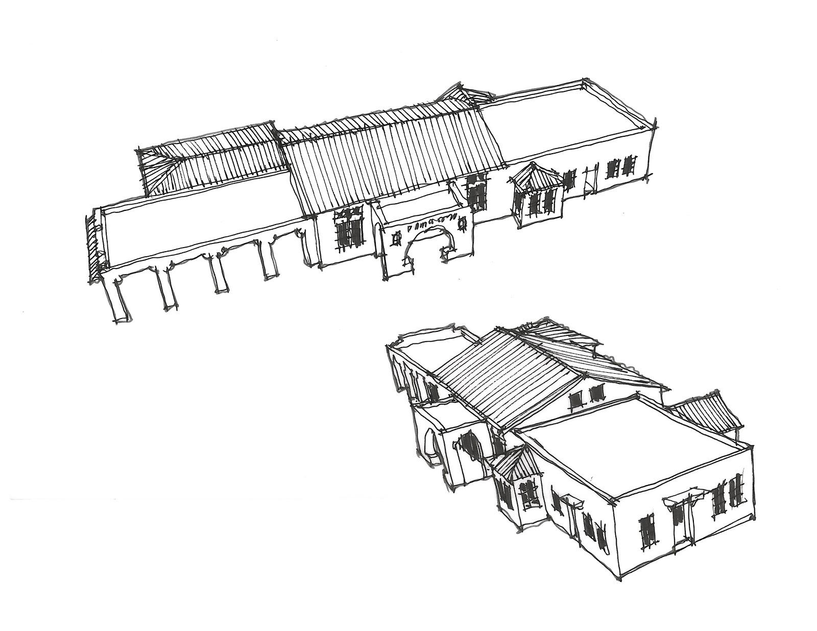 Art And Life Pasadena Train Station Model