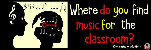 Music: a Key to the Brain! This post lists some of the advantages to using music in the classroom, and a couple of great sources of free music!