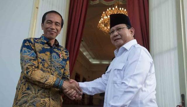 Begini Peta Dukungan Parpol Pendukung Jokowi dan Prabowo