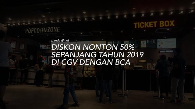 Diskon nonton di CGV 2019