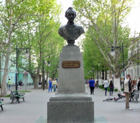 Херсон. Памятник А. В. Суворову и Дом Суворова