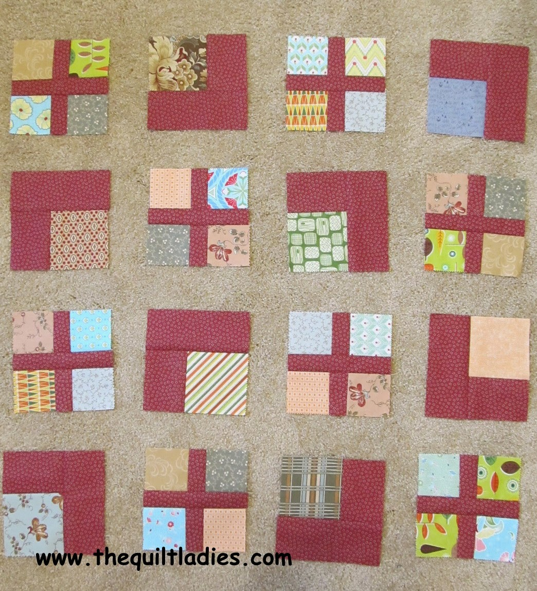 Free How to make a floating square quilt pattern.