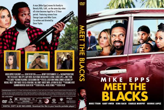 Uma Noite com a Família Blacks Torrent - BluRay Rip 720p e 1080p Dual Áudio (2016)