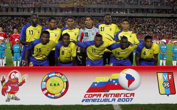 Formación de Ecuador ante Chile, Copa América 2007, 27 de junio