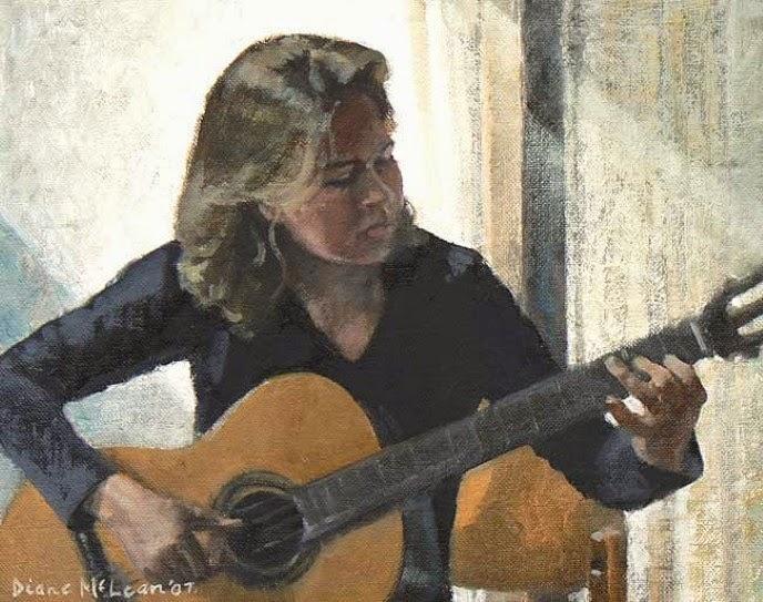 Современная южноафриканская художница. Diane McLean