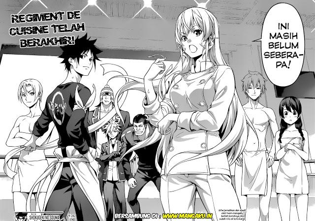 Komik Manga Shokugeki No Souma 267 Bahasa Indonesia