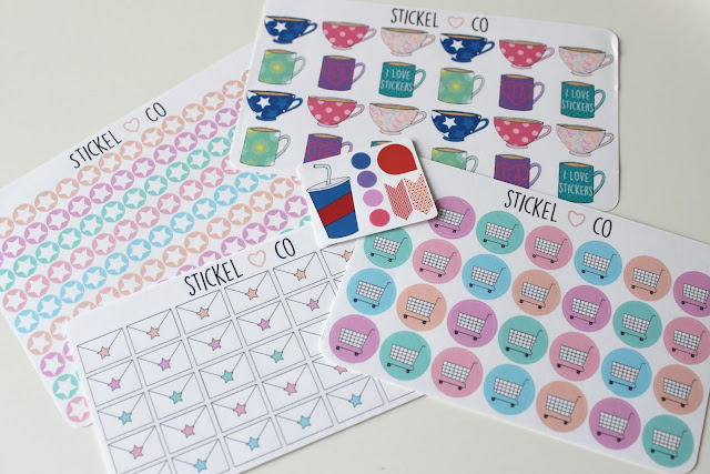 A picture of StickleCo Life Planner Stickers
