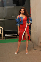 Jacqueline Fernandez Spicy Bollywood Actress in Red Dress Spicy  Exlcusive Gallery Pics (5).JPG