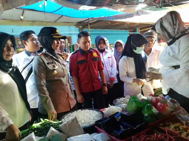 Kapolres Muba Bersama Instansi Terkait Sidak Pasar Sekayu