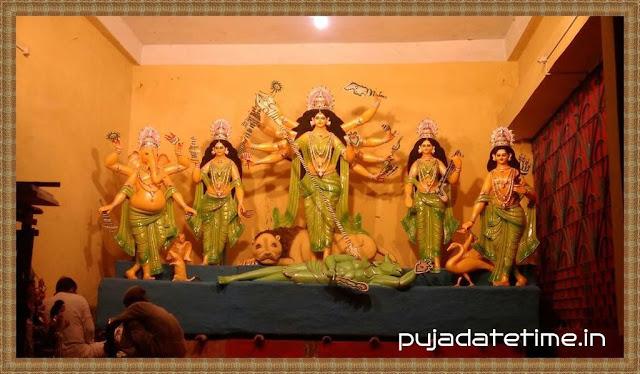 Baghraichandi Sarbajanin Durga Puja - Kushmandi
