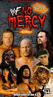 WWE / WWF - No Mercy 1999 (UK VERSION) - Event poster