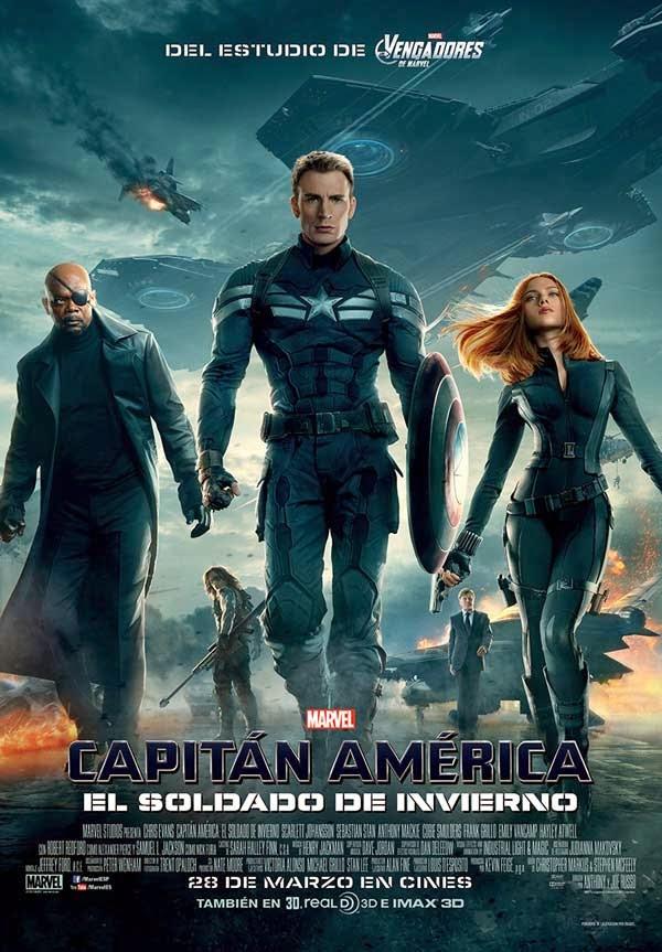 """""""Capitán América 2: El Soldado de Invierno"""" (Anthony Russo y Joe Russo, 2014)"""