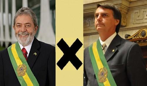 Os opostos sempre se atraem: Lula e Bolsonaro fazem o mesmo discurso
