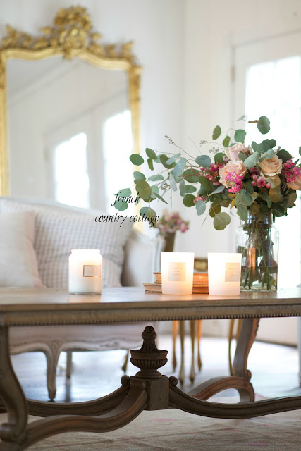 French Country Friday- French Country Coffee Table