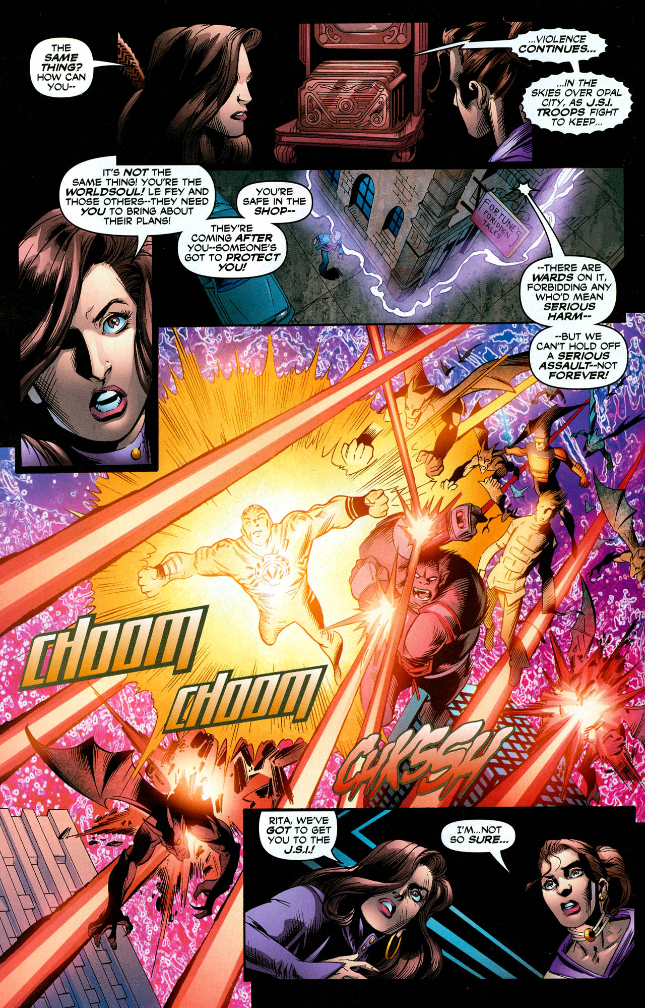 Read online Trinity (2008) comic -  Issue #29 - 11