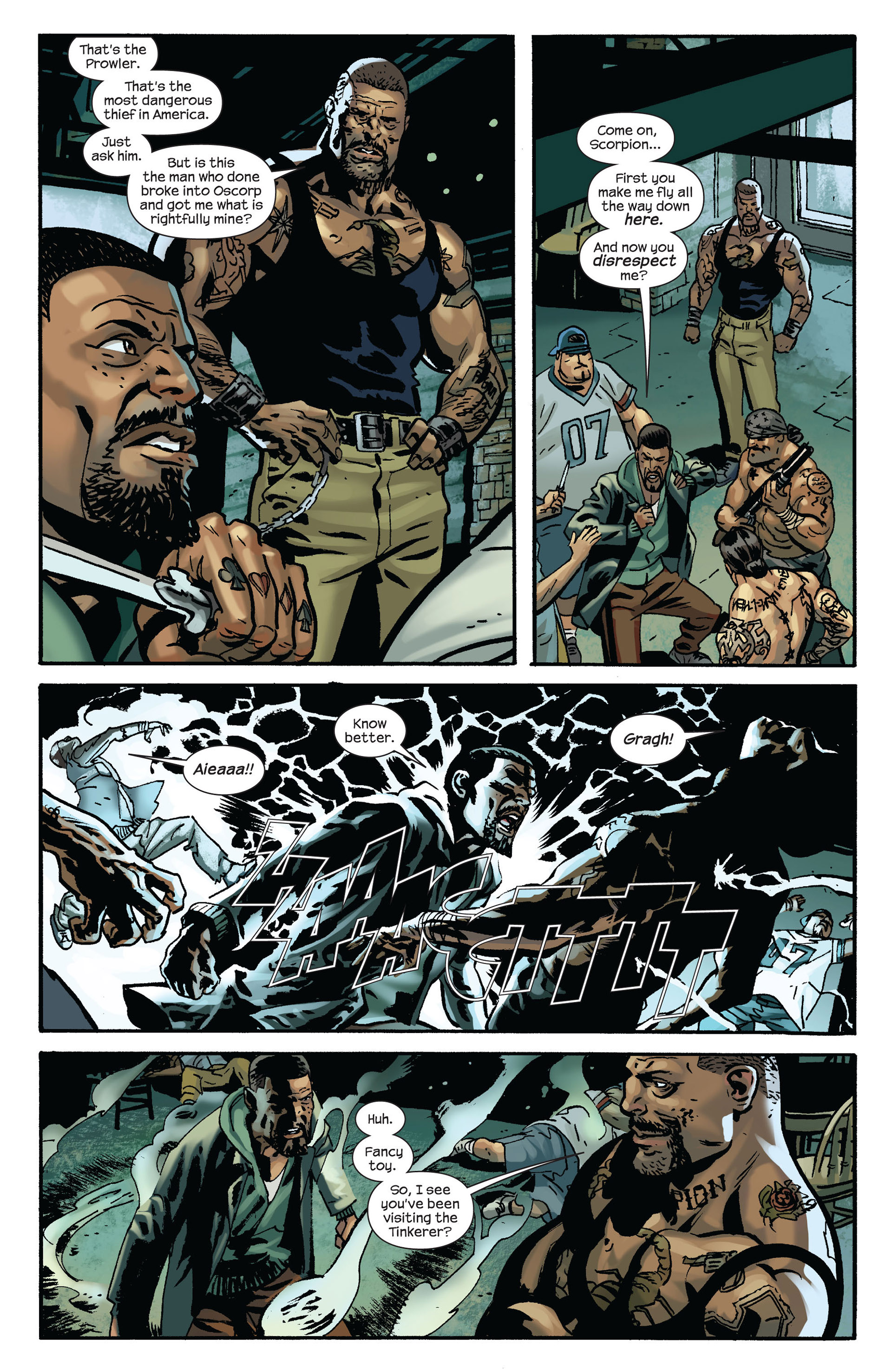 Read online Ultimate Comics Spider-Man (2011) comic -  Issue #6 - 5