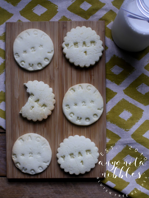 Easiest ever free from shortbread biscuit recipe