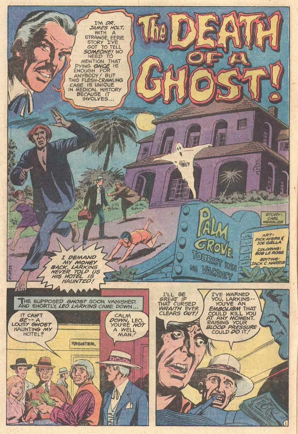Read online Ghosts comic -  Issue #98 - 3