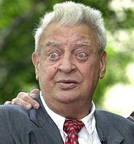 Rodney Dangerfield, el comediante de los ojos saltones