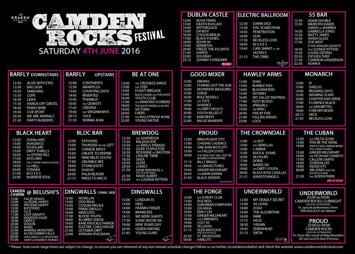 , Camden Rocks!