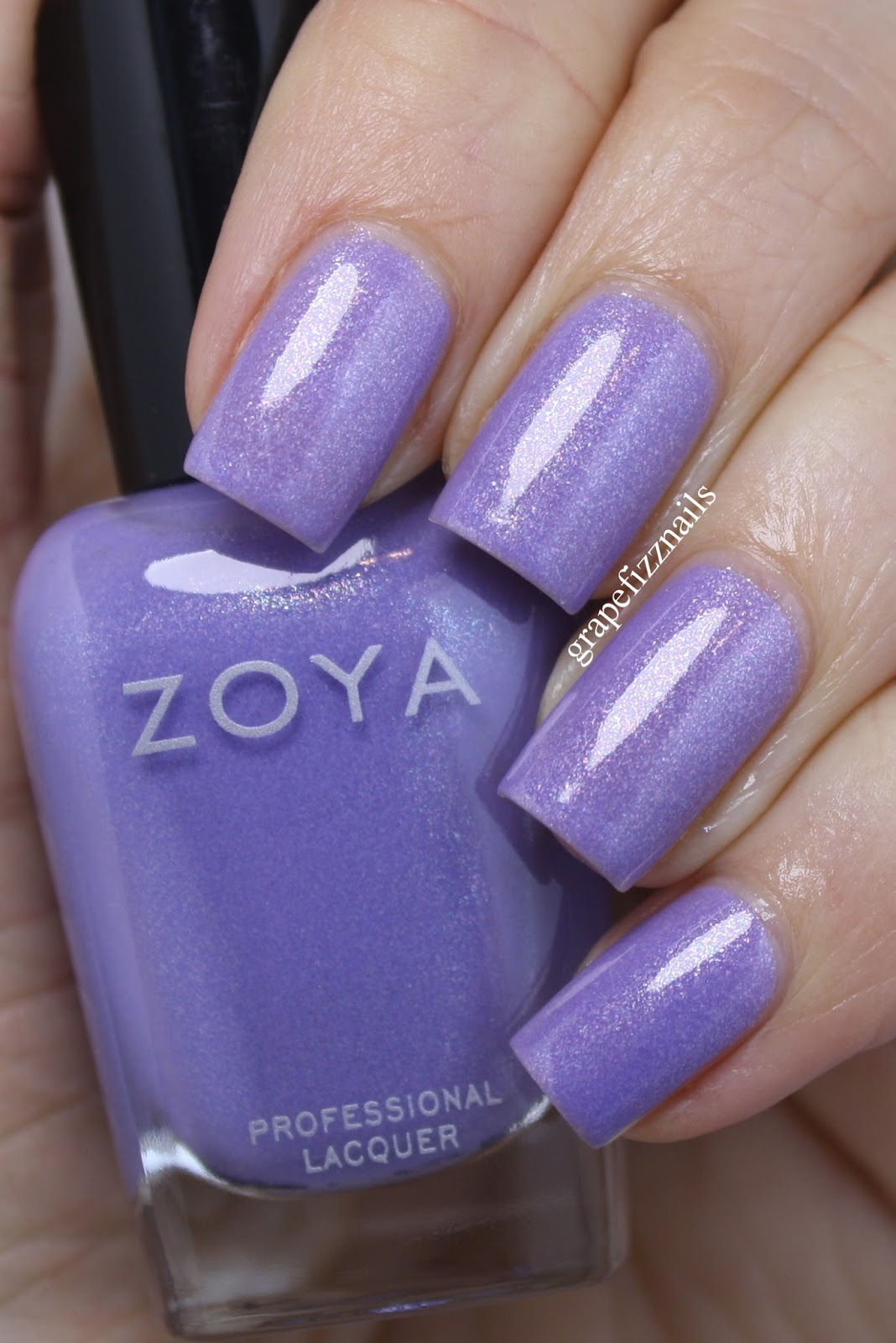 Grape Fizz Nails: Zoya Petals Collection Spring 2016