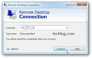 Remote Computer Access Using Remote Desktop