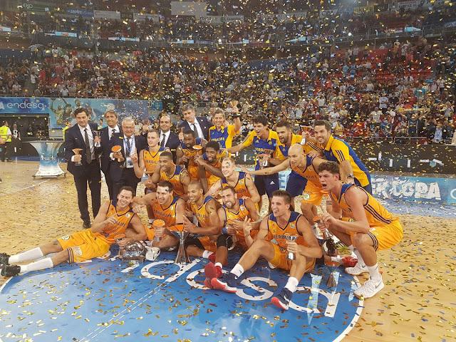BALONCESTO - Supercopa de España masculina 2016: Gran Canaria da un recital al Barça y consigue su primer gran título