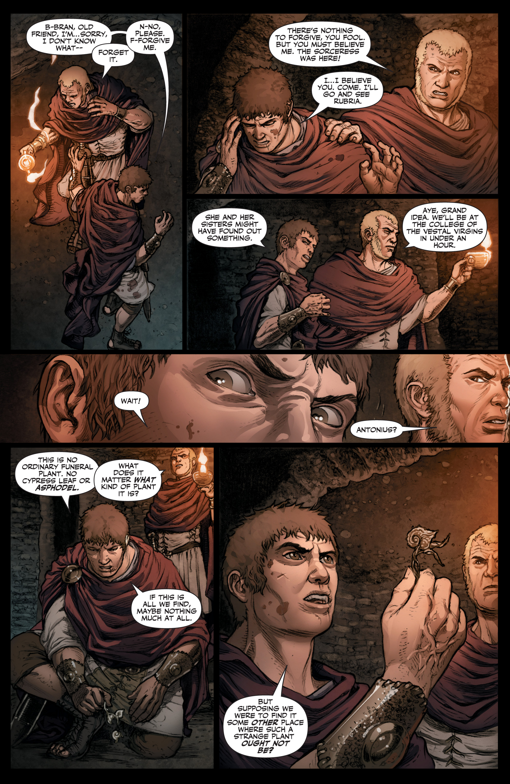 Read online Britannia: We Who Are About To Die comic -  Issue #3 - 19