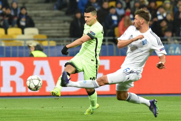 Manchester City s'impose 1-3 face au Dynamo Kiev en Ligue des Champions