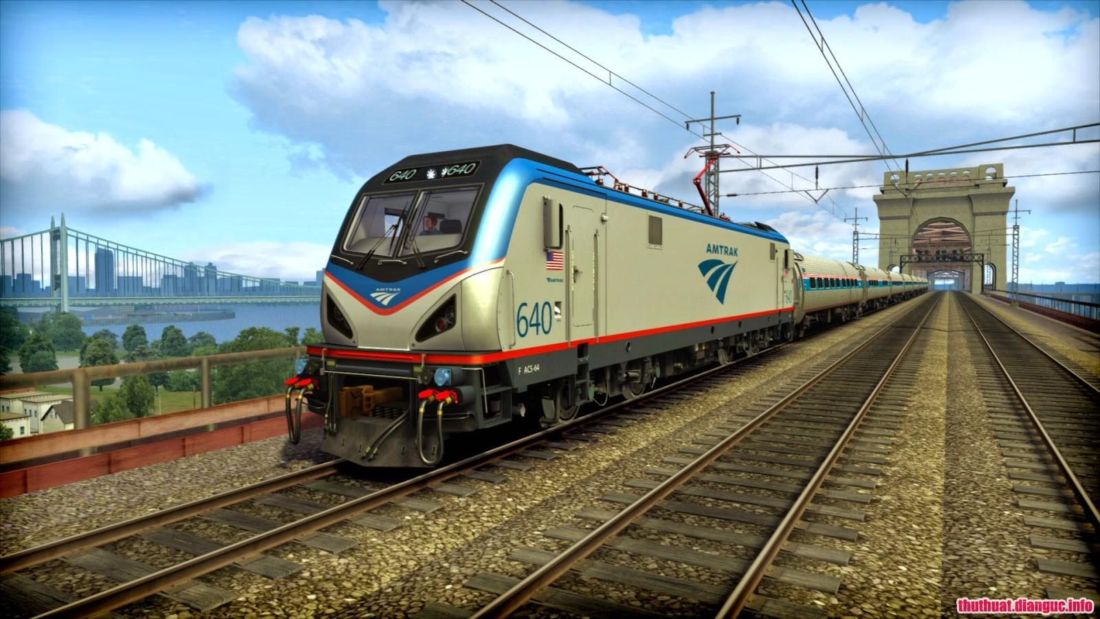 game mô phỏng lái tàu hỏa