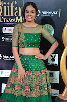 Nandita Swetha in a tight Green Choli Ghagra at IIFA Utsavam Awards March 2017 ~ 007.JPG