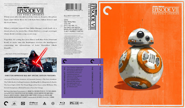Star Wars: Episode VII - The Force Awakens Bluray Cover