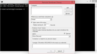"""""""Cara Mematikan Laptop Orang Lain Dengan CMD"""""""