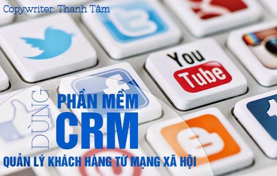 mua phần mềm crm quản lý khách hàng từ mạng xã hội