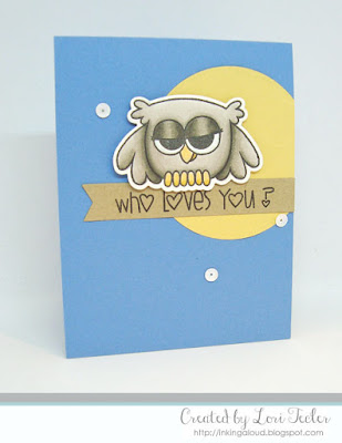 Who Loves You card-designed by Lori Tecler/Inking Aloud-stamps from Paper Smooches