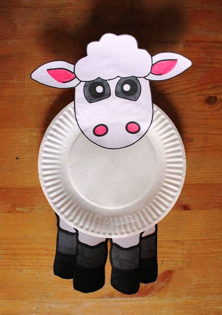 paper plates animal craft ideas ~ easy arts and crafts ideas