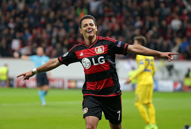 Chicharito Bayer Leverkusen Bundesliga