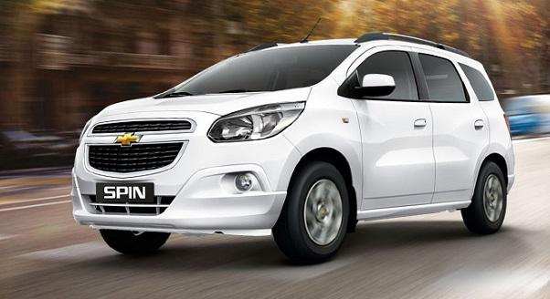 Harga Chevrolet Spin dan Spesifikasi