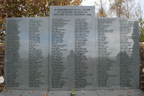 Lockerbie Memorial by Mr Ush