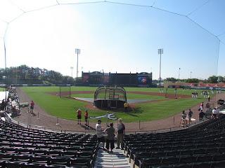 Home to center, Champion Stadium