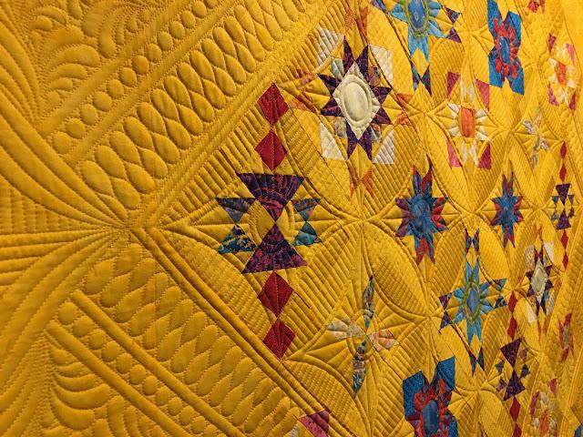 Quilt Pattern Yellow Lab