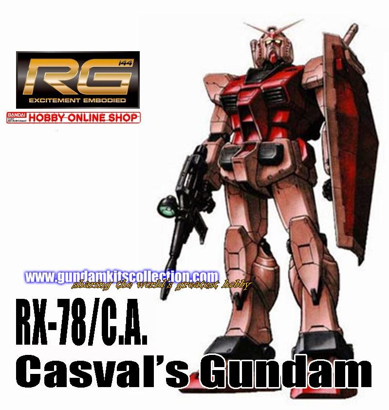P-Bandai: RG 1/144 RX-78/C.A. Casval's Gundam [RE-ISSUE] - Release Info
