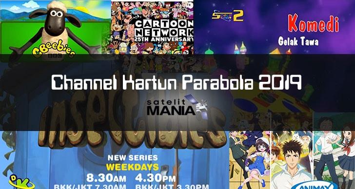 Channel Kartun Parabola 2019