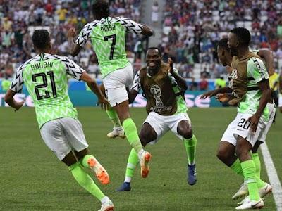 WC'18: Ahmed Musa Brace Helps Nigeria Down Iceland 2-0