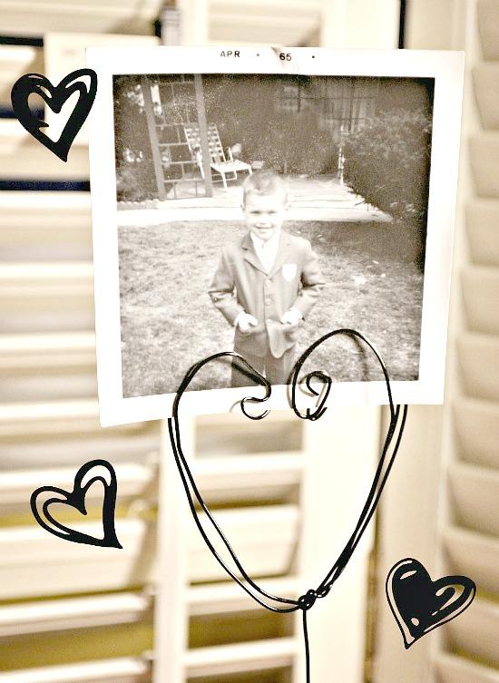 Valentine's Photo Holder